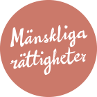Logo with Human rights text.
